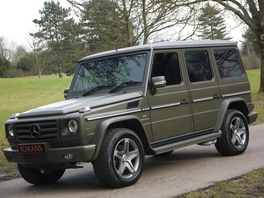Mercedes Benz G Class G55 Amg V8 Huge Specification